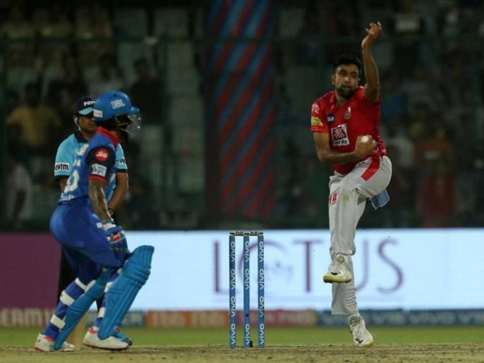 IPL 2019: Shikhar Dhawan mocks Ravichandran Ashwin with dance after getiing Mankad' Warning form spinner   अश्विन ने दी धवन को 'मांकडिंग' की चेतावनी, गब्बर ने अजीबोगरीब डांस से 'चिढ़ाया'