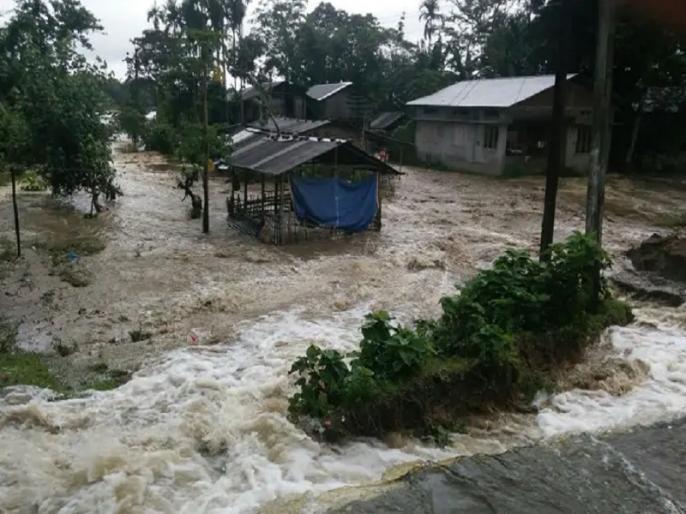 Assam floods 2 more dead 4-62 lakh people affected | Assam Flood: असम में खतरनाक होता जा रहा बाढ़ का संकट, दो और मौत, चार लाख से अधिक लोग प्रभावित