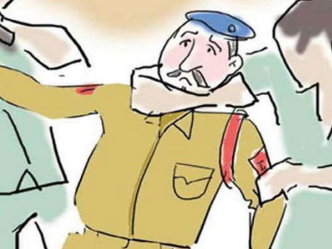 Two soldiers were beaten up by 14 people, including Bunku, son of Congress MLA Adel Singh Kansana, FIR | कांग्रेस विधायक अदेल सिंह कंसाना के पुत्रबंकू सहित 14 लोगों ने दो सिपाही को बीहड़ में ले जाकर जमकर पीटा,एफआईआर