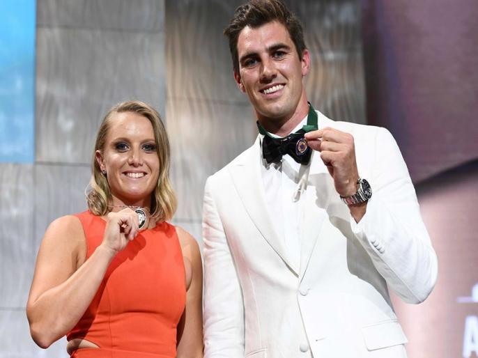 Australian Cricket Awards winners' list Allan Border Medal Pat Cummins | पैट कमिंस को मिला 'क्रिकेट ऑस्ट्रेलिया' का सर्वोच्च पुरस्कार, महिलाओं में एलिसा का दबदबा