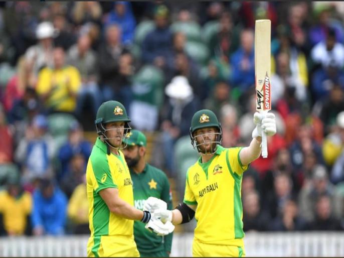 ICC cricket match 17th match Australia vs Pakistan: Australia won by 41 runs | ICC World Cup 2019: AUS vs PAK: वॉर्नर ने जड़ा शतक, ऑस्ट्रेलिया ने पाकिस्तान को दी शिकस्त