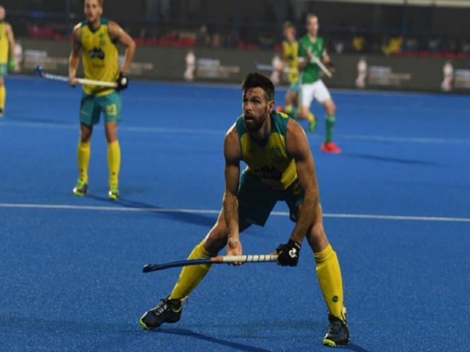 hockey world cup 2018 group b australia beat ireland by 2-1 in their first match | Hockey World Cup: चैम्पियन ऑस्ट्रेलिया की जीत से शुरुआत, अपने पहले मैच में आयरलैंड को हराया