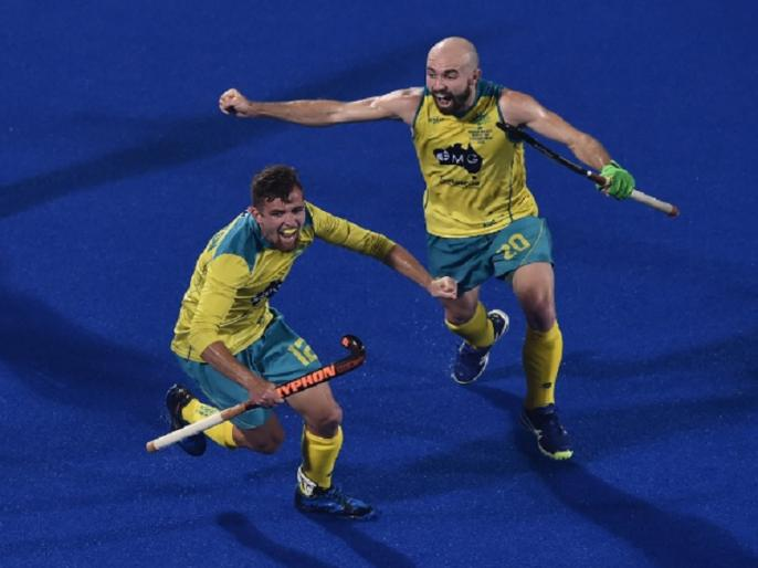 hockey world cup 2018 australia beat england by 3 0 in group b match | Hockey World Cup 2018: ऑस्ट्रेलिया की लगातार दूसरी जीत, इंग्लैंड को 3-0 से हराया