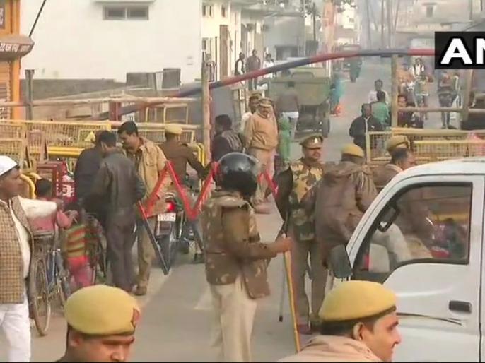 ayodhya verdict: UP police arrested 99 people for Objectionable Posts till today   अयोध्या फैसलाः सोशल मीडिया के जरिए माहौल खराब करने वालों पर चल रहा पुलिस का डंडा, अबतक 99 गिरफ्तार