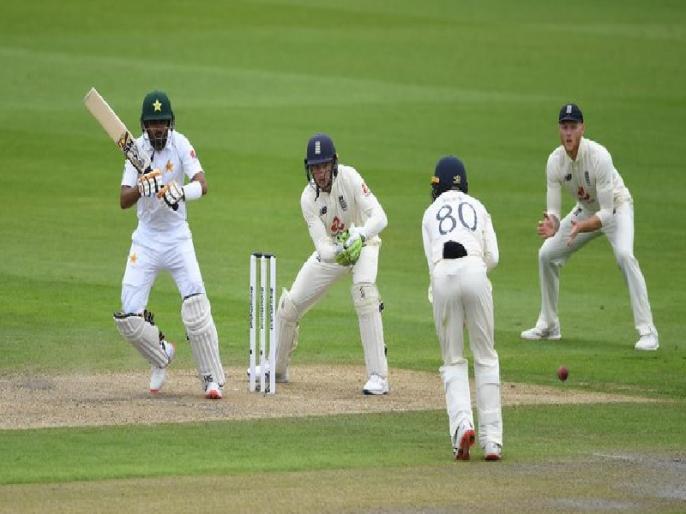 England vs Pakistan, 1st Test, Day 1 Match Report: Babar Azam, Shan Masood shine on Rain Hit Day | ENG vs PAK, 1st Test: बाबर आजम की फिफ्टी, वर्षा प्रभावित पहले दिन पाकिस्तान के दो विकेट पर 139 रन