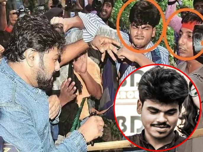 jadavpur university union minister babul supriyo physically attacked picture viral | जादवपुर यूनिवर्सिटी में बाबुल सुप्रियो से बदसलूकी करने वाले छात्र की तस्वीर वायरल, केंद्रीय मंत्री ने ममता बनर्जी से पूछे ये सवाल