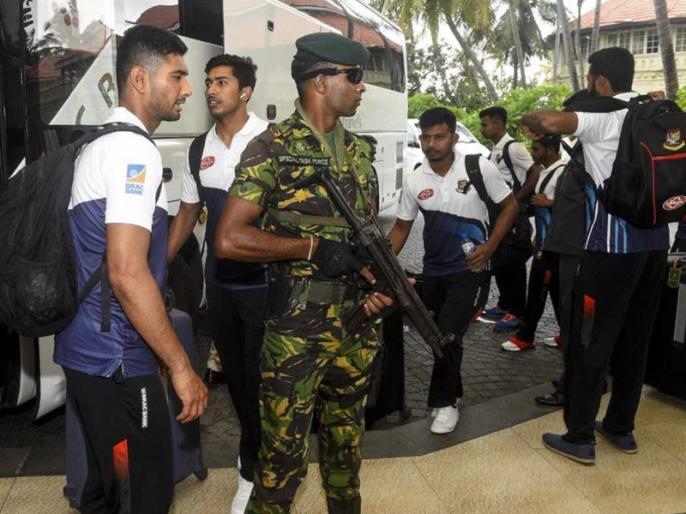 Bangladesh Cricket team Arrive In Sri Lanka Under High Security | बांग्लादेश क्रिकेट टीम कड़ी सुरक्षा के बीच पहुंची श्रीलंका, खेलेगी तीन वनडे मैचों की सीरीज