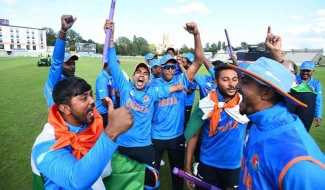 cricket2019 World Cup championDivyang cricketer feeling neglected nagpur bcci t-20Tournament | 2019 विश्व कप चैंपियन बनने के बावजूद उपेक्षित महसूस कर रहे दिव्यांग क्रिकेटर
