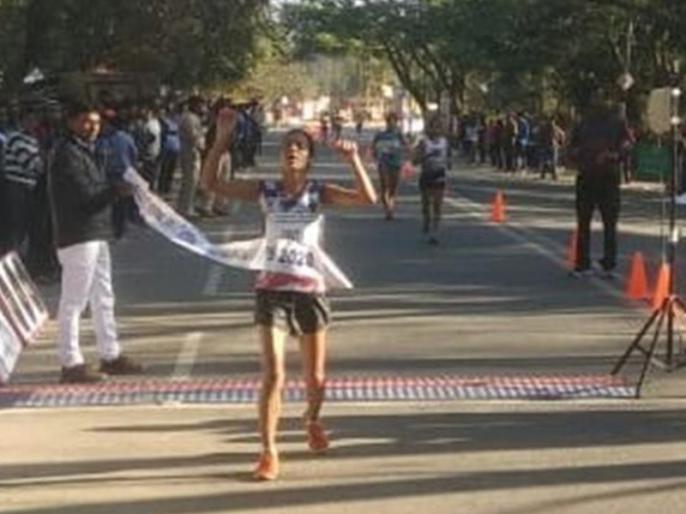 India's Bhawna Jat makes the Olympic cut in 20km race walk | भारतीय एथलीट भावना जाट ने 20 किमी पैदल चाल में बनाया नया रिकॉर्ड, ओलंपिक के लिए किया क्वालिफाई