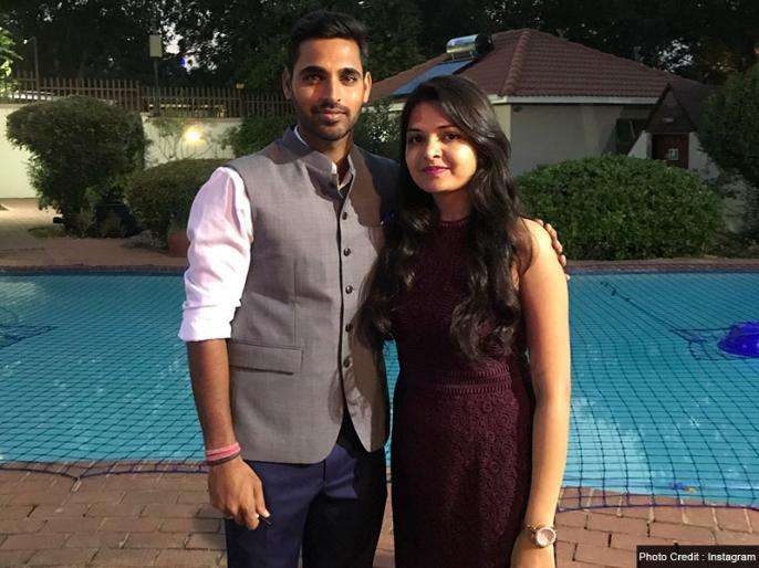 Bhuvneshwar Kumar has a piece of advise for a worried fan whose girlfriend is getting married | 'मेरी गर्लफ्रेंड की शादी हो रही है, जिससे बहुत प्यार करता था', फैन को भुवनेश्वर कुमार ने दिया शानदार जवाब