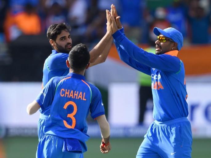 Asia Cup 2018: India registers their biggest odi win vs Pakistan | एशिया कप: भारत की आंधी में उड़ा पाकिस्तान, गेंदबाजों के दम पर टीम इंडिया ने दर्ज की सबसे बड़ी जीत