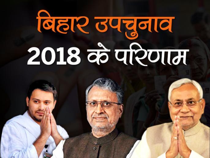 rjd won jehanabad vidhan sabha seat and bjp won bhabua vidhan sabha sheet by polls election result 2018 | Bihar Bypolls: जहानाबाद में आरजेडी तो भभुआ में बीजेपी की जीत, कांग्रेस को हासिल नहीं हुई 28 साल पुरानी सीट