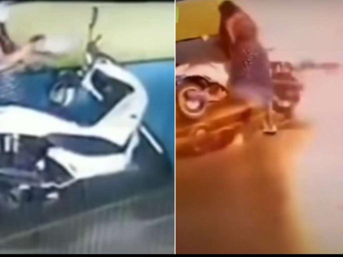 Woman sets ex-boyfriend's expensive bike on fire