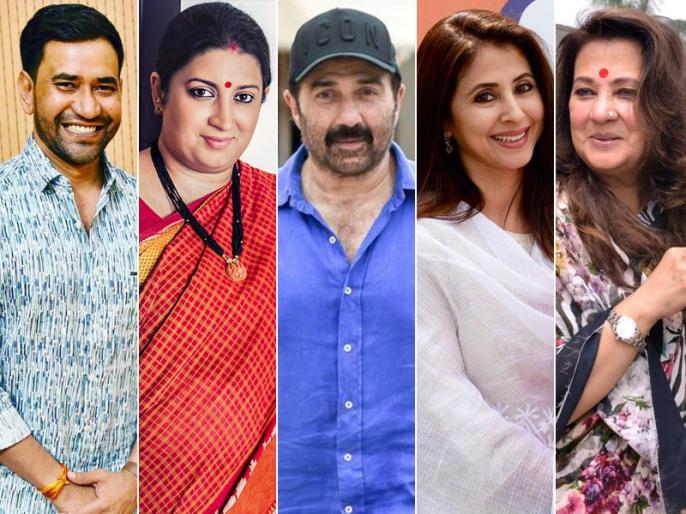 Lok Sabha Election 2019 Results Live: Actors and Actresses win or loose at parliamentary constituencies as counting begins on election result day | फिल्म-टीवी स्टार का चुनावी हाल: सनी देओल को जीत हुई हासिल ,स्मृति ईरानी-राहुल गांधी से हुईं आगे