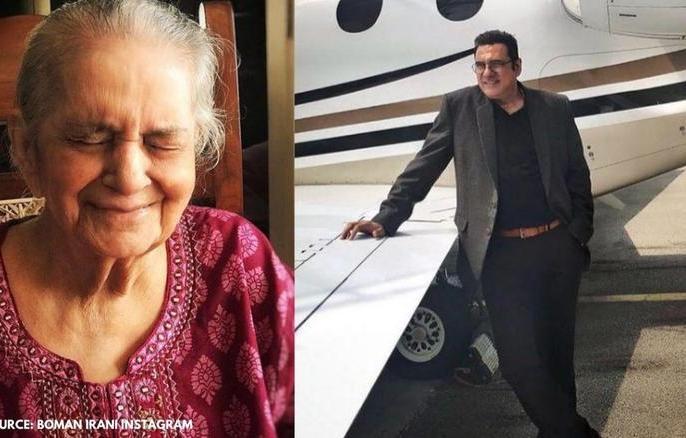 Actor Boman Irani's mother Zerbanu Irani passed away 94 age writes emotional postrole of both mother and father | बोमन ईरानी की मां का94 साल के उम्र निधन,इंस्टाग्राम पर भावुक पोस्ट-32 वर्ष की आयु से मेरे लिए मां और पिता दोनों थीं...
