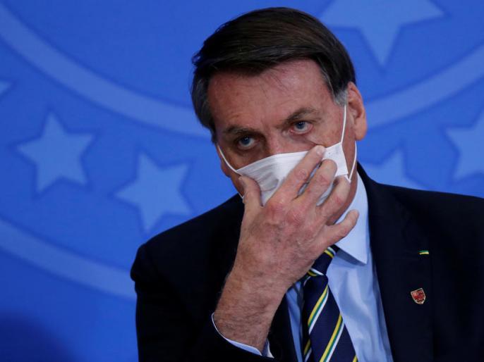 Coronavirus covid-19 who infection hydroxychloroquine Brazilian President Jair Bolsonaro | कोविड-19ःवह हाइड्रॉक्सीक्लोरोक्वीन से संक्रमण मुक्त हो जाएंगे,ब्राजील के राष्ट्रपति जेयर बोलसोनारो बोले