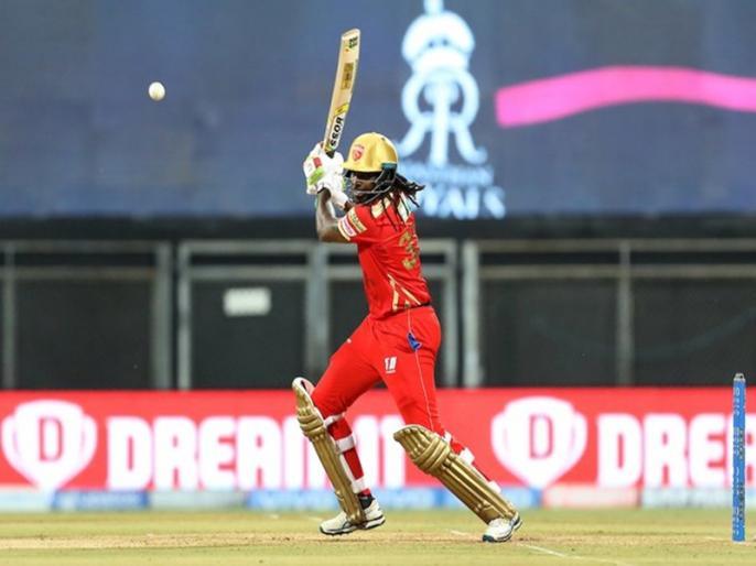 PBKS vs RR Chris Gayle completes 350 sixes in IPL first to reach the milestone | IPL 2021: क्रिस गेल ने रचा इतिहास, आईपीएल ऐसा कारनामा करने वाले बने पहले बल्लेबाज