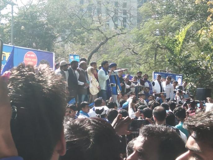 Bhim Army Delhi jantar mantar bahujan hunkar rally chandrashekhar azad ravan   भीम आर्मी रैली: चंद्रशेखर ने अखिलेश-मोदी पर साधा निशाना, पर मायावती का नहीं लिया नाम, 'महागठंधन' को दिया समर्थन