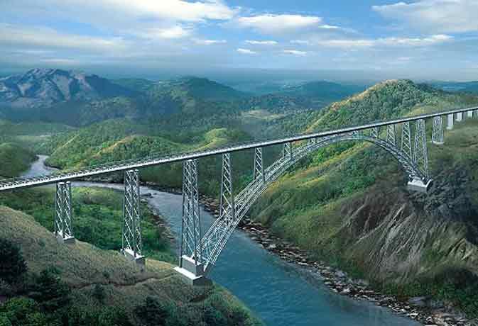 World's highest rail bridge over Chenab river: Earthquake of eight magnitude will be able to be completed by 2021 | चिनाब नदी परविश्व का सबसे ऊंचा रेल पुल:आठ की तीव्रता वाला भूकंप सह सकेगा,2021 तक पूरा होने की संभावना
