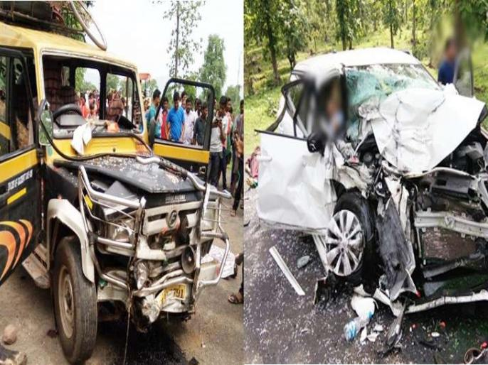 6 killed, 5 injured in road accidents in Chhattisgarh | छत्तीसगढ़ में सड़क दुर्घटनाओं में छह लोगों की मौत, पांच घायल