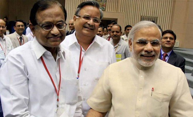 P Chidambaram hails PM Modi's vision on population explosion | पीएम मोदी की जनसंख्या नियंत्रण सहित इन तीन बातों का पी चिदंबरम ने किया स्वागत, कहा- 'इसे जन आंदोलन का रूप लेना चहिए'