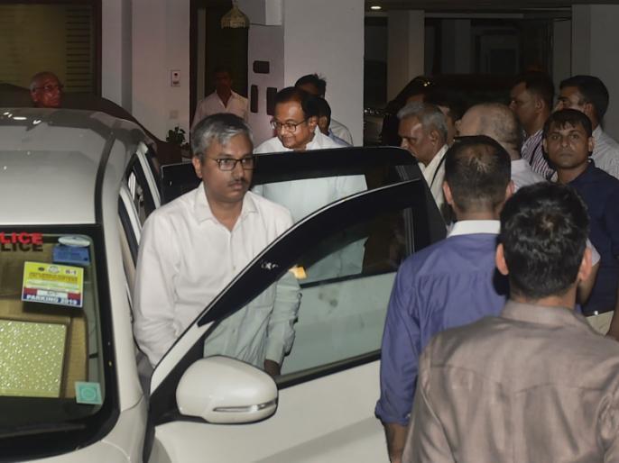 P. Chidambaram refuses to eat canteen food, spends the night without saying anything in CBI 'guest house' | कैंटीन का खाना खाने से चिदंबरम का इनकार, सीबीआई 'गेस्ट हाउस' में बिना कुछ बोले बिताई रात