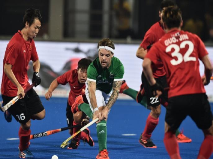 hockey world cup 2018 china holds ireland draw with 1 1 australia into quarterfinals | हॉकी वर्ल्ड कप 2018: चीन और आयरलैंड का मैच ड्रा, ऑस्ट्रेलिया की क्वॉर्टर फाइनल में जगह पक्की