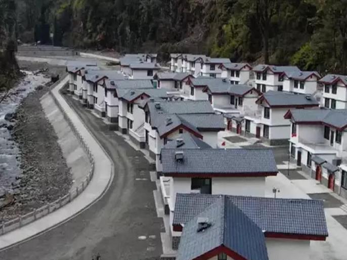 'Chinese Village': BJP workers protest in Arunachal, effigy of Xi Chinfing burnt | 'चीनी गांव': BJP कार्यकर्ताओं ने अरूणाचल में किया प्रदर्शन, शी जिनपिंग का जलाया पुतला