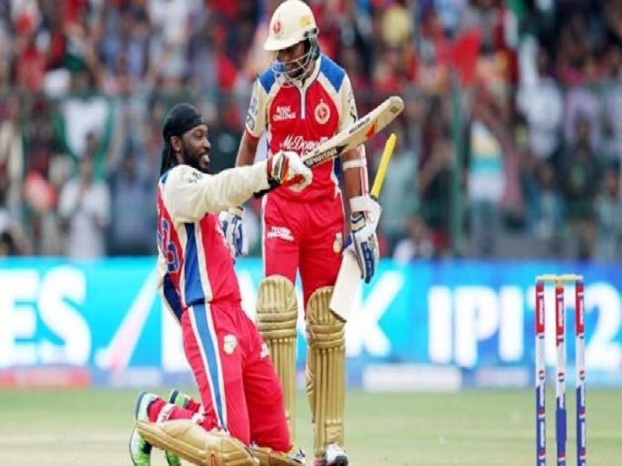 Chris Gayle recalls his 175 in IPL 2013, says could have got 200 if ABD didn't come in | क्रिस गेल ने किया आईपीएल में 175 रन की तूफानी पारी को याद, कहा, 'अगर डिविलियर्स बैटिंग के लिए नहीं आते, तो मैं जड़ सकता था दोहरा शतक'