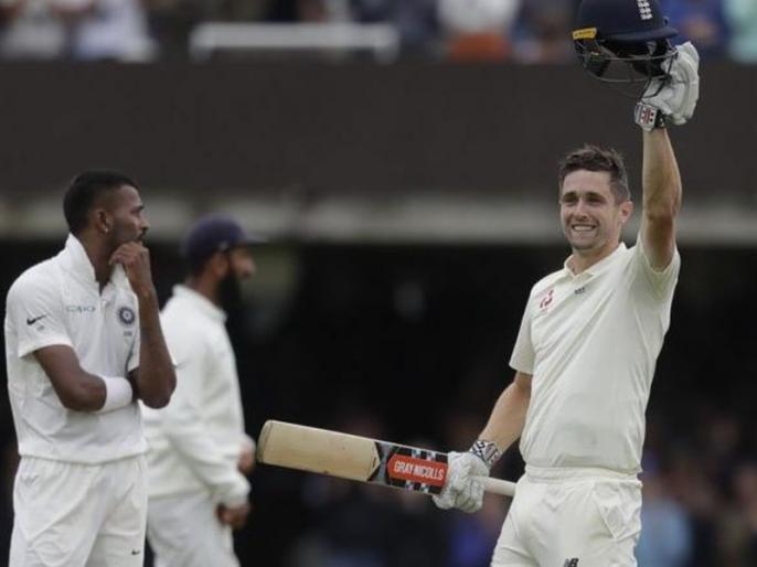 India vs England: Chris Woakes scores maiden Test century, had his name on three Lord's honours boards | Ind vs ENG: दूसरे टेस्ट में छाए क्रिस वोक्स, शतक जड़कर तीसरी बार लिखवाया लॉर्ड्स सम्मान बोर्ड पर अपना नाम