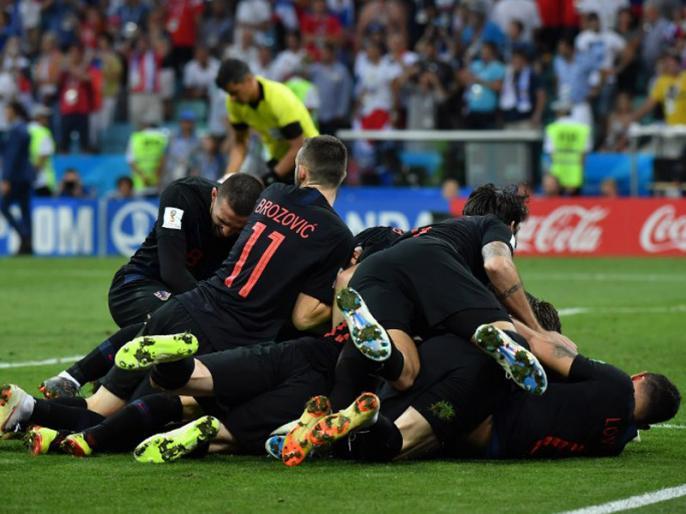 FIFA World Cup 2018, 2nd Semifinal: Croatia beat England by 2-1 to enter in Final | इंग्लैंड को हरा World Cup इतिहास में पहली बार फाइनल में क्रोएशिया, तीन बार के फाइनलिस्ट फ्रांस से होगा मुकाबला