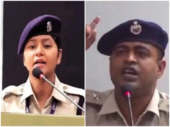 After crpf women constable video crpf jawan video goes viral people says incredible | Video:अफजल पर बयान देने वाली महिला कॉन्स्टेबल को उनके ही साथी का जवाब!, लोगों ने कहा- 'खुशबू ने जहर परोसा, इन्होंने दिल जीता'