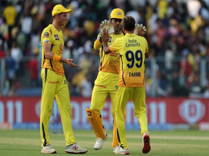 IPL 2019, KKR vs CSK: Chennai won by 5 wkts, Raina not out fifty | IPL 2019, KKR vs CSK: इमरान ताहिर-सुरेश रैना के दम चेन्नई ने दर्ज की सीजन की 7वीं जीत