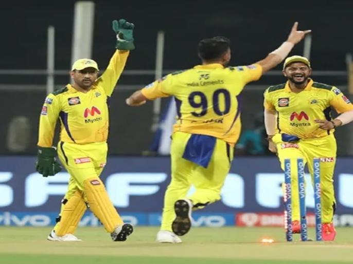 IPL 2021 CSK vs KKR MS Dhoni win third match in this season kkr lost again   IPL 2021: दीपक चाहर की गेंदों ने ढाया कहर, रोमांचक मुकाबले में केकेआर को मिली हार, चेन्नई ने दर्ज की लगातार तीसरी जीत