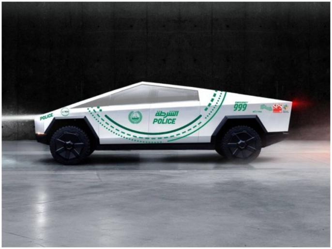 After Ferrari and Lamborghini this country's police will use Tesla's Cybertruck | फेरारी, लेंबॉर्गिनी के बाद अब दुबई पुलिस के काफिले में शामिल होगी ये खास ट्रक, दिये गये हैं धांसू फीचर