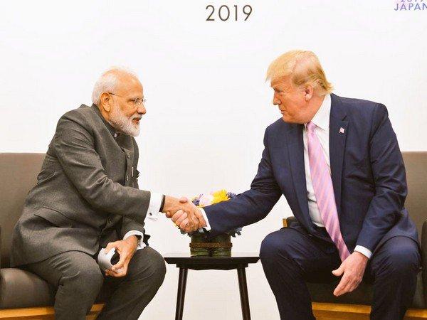 US President Donald Trump at bilateral meeting with PM Narendra Modi in Osaka, Japan. | ट्रम्प से मिले पीएम मोदी, यूएसराष्ट्रपति ने दी बधाई, आतंकवाद, ईरान और 5G पर चर्चा की