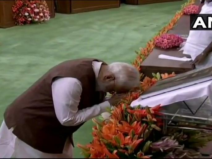 PM Narendra Modi addressing NDA parliamentary meeting: These elections were pro-incumbency. | पीएम मोदी ने कहा,चुनाव सामाजिक एकता का आंदोलन बन गया, समता भी, ममता भी, समभाव भी, ममभाव भी