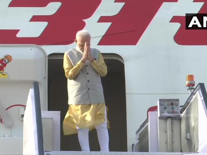 Prime Minister Narendra Modi leaves for two-day visit to Bishkek where he will attend the Shanghai Cooperation Organisation (SCO) summit. | SCO सम्मेलन: किरगिस्तान के बिश्केक के लिए रवाना हुए प्रधानमंत्री मोदी, जिनफिंग-पुतिन से होगी मुलाकात
