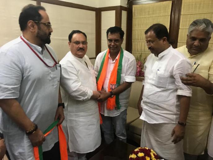 INLD Rajya Sabha member Ramkumar Kashyap included in BJP, number of MPs 76 | इनेलोराज्यसभा सदस्य रामकुमार कश्यप भाजपा में शामिल, सांसदों की संख्या 76