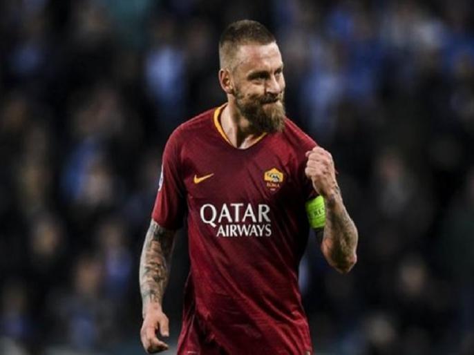 Italy World Cup winner Daniele de Rossi retires aged 36   इटली वर्ल्ड कप विजेता टीम के सदस्य रहे इस महान खिलाड़ी ने फुटबॉल को अलविदा कहा