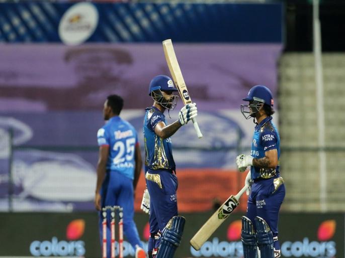 MI vs DC IPL 2020 Match Highlights Mumbai Indians Beat Delhi Capitals By 5 Wickets | IPL 2020: जीत के 'चौके' के साथ टॉप पर मुंबई, मैच में बने कई बड़े रिकॉर्ड