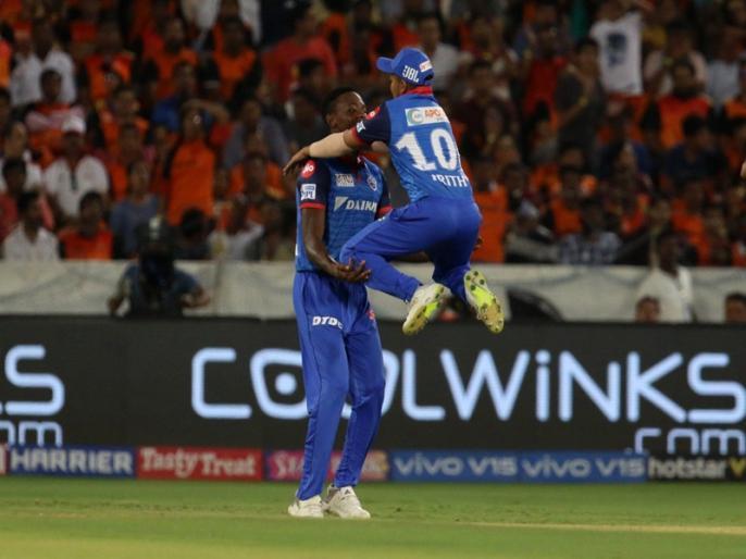 IPL 2019, SRH vs DC IPL Live Cricket Score, Results, Live blog, Match Facts, Updates, Highlights, Scorecard, Eden Gardens, IPL Match Today   IPL 2019, SRH vs DC: गेंदबाजों ने पलटा मैच का पासा, दिल्ली ने दर्ज की 39 रन से जीत
