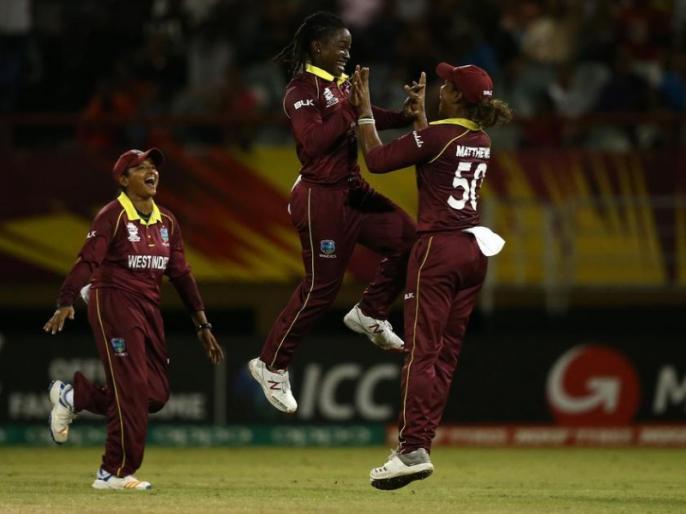 ICC Women's World T20: Deandra Dottin takes 5 wickets, as West Indies beat Bangladesh by 60 runs | महिला T20 वर्ल्ड कप: डेंड्रा डॉटिन ने 5 रन देकर झटके 5 विकेट, विंडीज ने बांग्लादेश को 46 रन पर ढेर करते हुए 60 रन से रौंदा