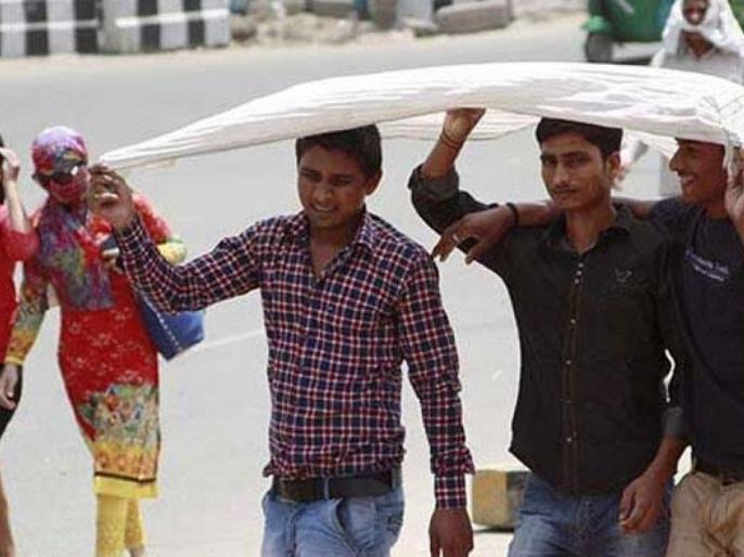 Weather Report: Delhiites suffering from heat and humidity   Weather Report: दिल्लीवासी गर्मी और उमस से बेहाल