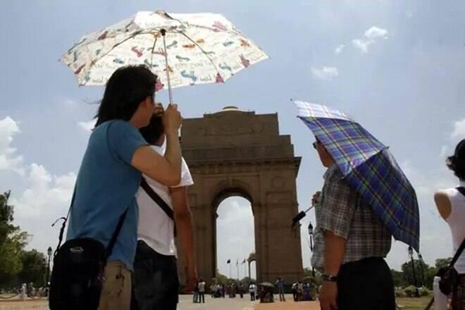 India Meteorological Department (IMD): temperature expected to remain at 46 degrees Celsius in Delhi today. | उत्तर भारत मेें भीषण गर्मी का दौर जारी, दिल्ली में आज तापमान रहेगा 46 डिग्री, घर से बचकर निकलें