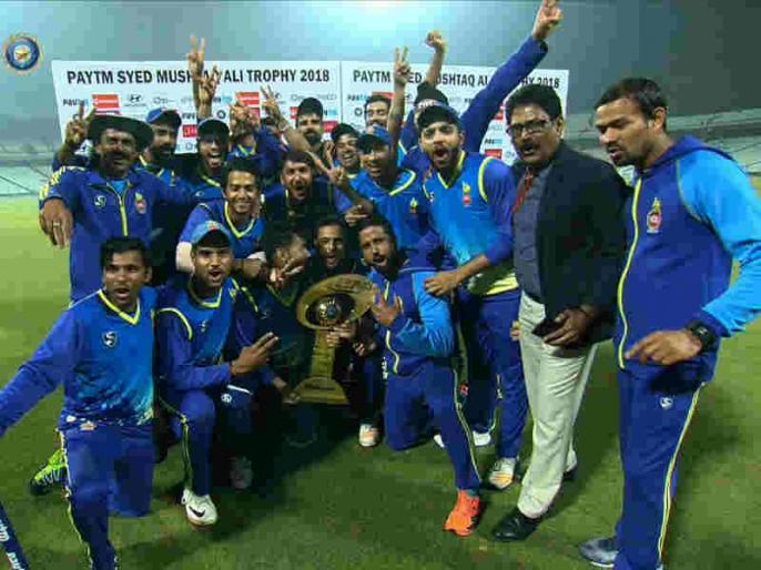 Syed Mushtaq Ali Trophy: Delhi beat Rajasthan by 41 runs to win title | दिल्ली ने राजस्थान को 41 रन से हराते हुए सैयद मुश्ताक अली ट्रॉफी जीती