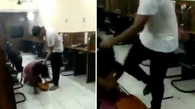 Accused Rohit Tomar who was seen beating a woman in a viral video in Delhi's Tilak Nagar arrested | दिल्लीः युवती को बेरहमी से पीटने वाला लड़का गिरफ्तार, राजनाथ सिंह के ट्वीट के कुछ घंटे बाद ही हुई कार्रवाई