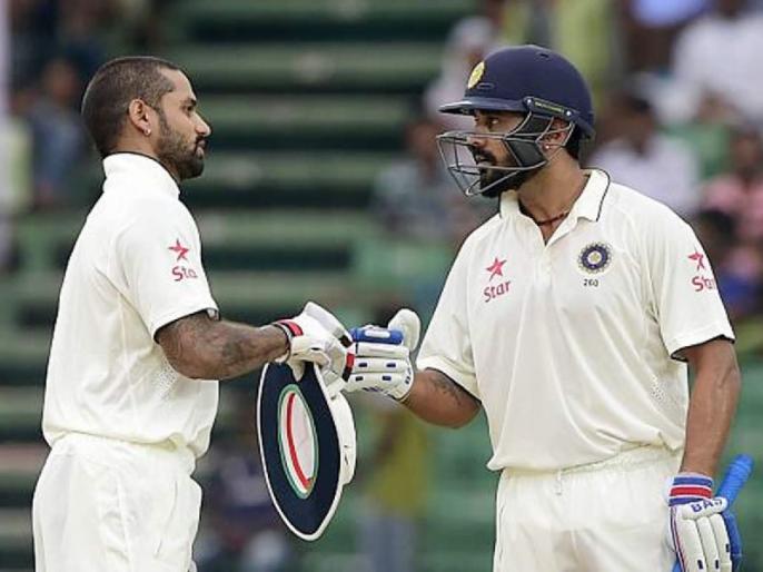 'You are like my wife': Shikhar Dhawan on India teammate Murali Vijay | 'वह मेरी पत्नी की तरह हैं': शिखर धवन ने टीम इंडिया के इस साथी खिलाड़ी के बारे में कहा