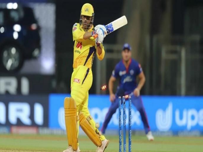 MS Dhoni departs for duck in his first appearance of IPL 2021 | IPL 2021: दिल्ली के खिलाफ खाता भी नहीं खोल सके महेंद्र सिंह धोनी, टूटा करोड़ों फैंस का दिल