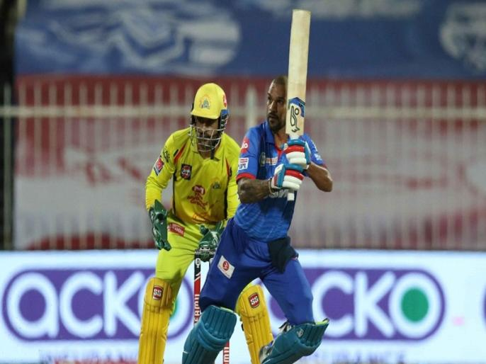 MS Dhoni reveals why Dwayne Bravo didnt bowl final over rues Shikhar Dhawan drop catches | IPL 2020: धोनी ने बताई चेन्नई की हार की असली वजह, कहा- धवन को कई जीवनदान देना पड़ा महंगा
